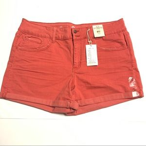 SO Women's Midi Stretch Low Rise Shorts